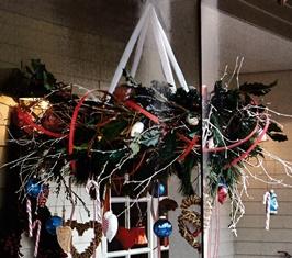 kerstkrans-plafond