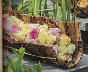 Bladrol-met-bloemen