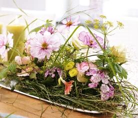 Voorjaar met hooi